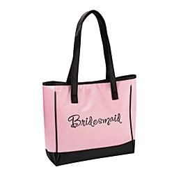 Lillian Rose™ Bridesmaid Pink Tote Bag