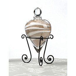 Lillian Rose™ Heart Unity Sand Vase with Stand
