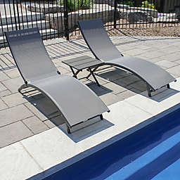 Vivere Coral Springs 3-Piece Lounger Set