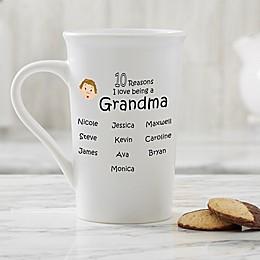 Personalized So Many Reasons Latte Mug