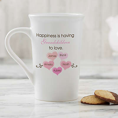 Personalized What Is Happiness? Latte Mug