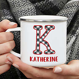 Personalized Farmhouse Christmas Camping Mug