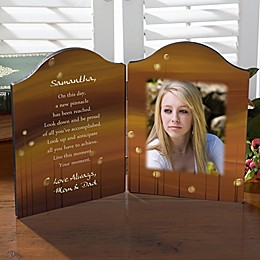 Personalized Graduation Day Photo Plaque