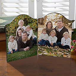 Personalized Double Photo Plaque