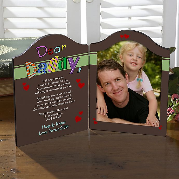 Alternate image 1 for Personalized Why We Need A Dad/Grandpa Photo Plaque