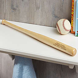 Personalized New Baby Mini Baseball Bat