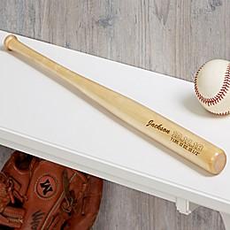 Personalized Baby Announcement Mini Baseball Bat