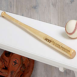 Personalized MVP Mini Baseball Bat