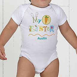 My First Easter Personalized Baby Bodysuit