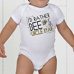 I'd Rather Bee With... Personalized Baby Bodysuit