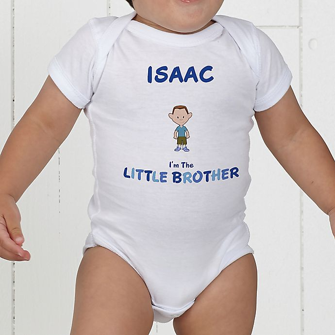 Alternate image 1 for Brother Character Personalized Baby Bodysuit
