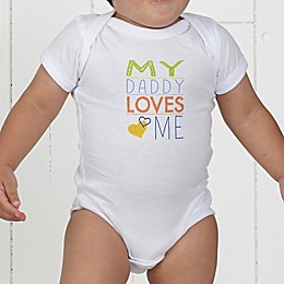 Look Who Loves Me Personalized Baby Bodysuit