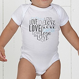 A Heart Full Of Love Personalized Baby Bodysuit