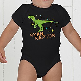 Dinosaur Personalized Baby Bodysuit