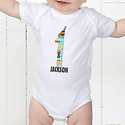 It's My Birthday Personalized Baby Bodysuit