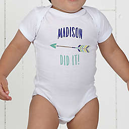 Who's To Blame! Personalized Baby Bodysuit