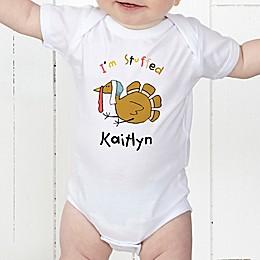 I'm Stuffed Personalized Infant Baby Bodysuit
