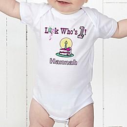 Birthday Kid Personalized Baby Bodysuit