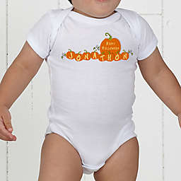 My First Halloween Personalized Baby Bodysuit