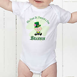 My First St Patrick's Day Personalized Baby Bodysuit