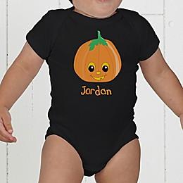 Pumpkin Pal Personalized Baby Bodysuit
