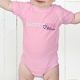 Daddy's Girl Personalized Baby Bodysuit