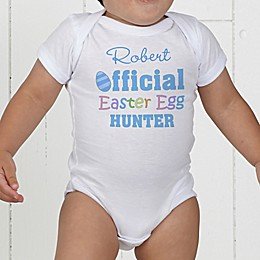 Official Egg Hunter Personalized Baby Bodysuit