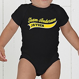 Father & Son Team Personalized Baby Bodysuit