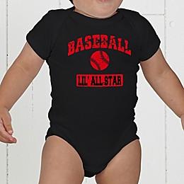 14 Sports Personalized Baby Bodysuit