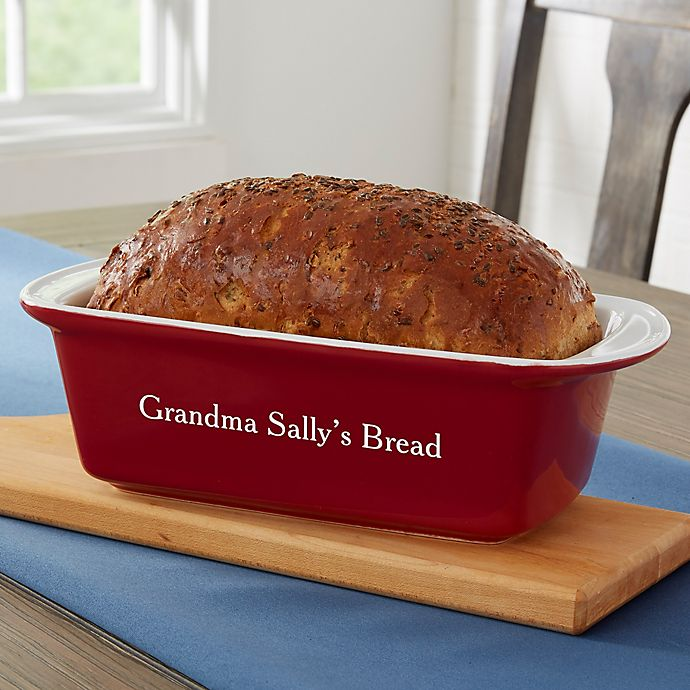 Alternate image 1 for Personalized Classic Loaf Pan