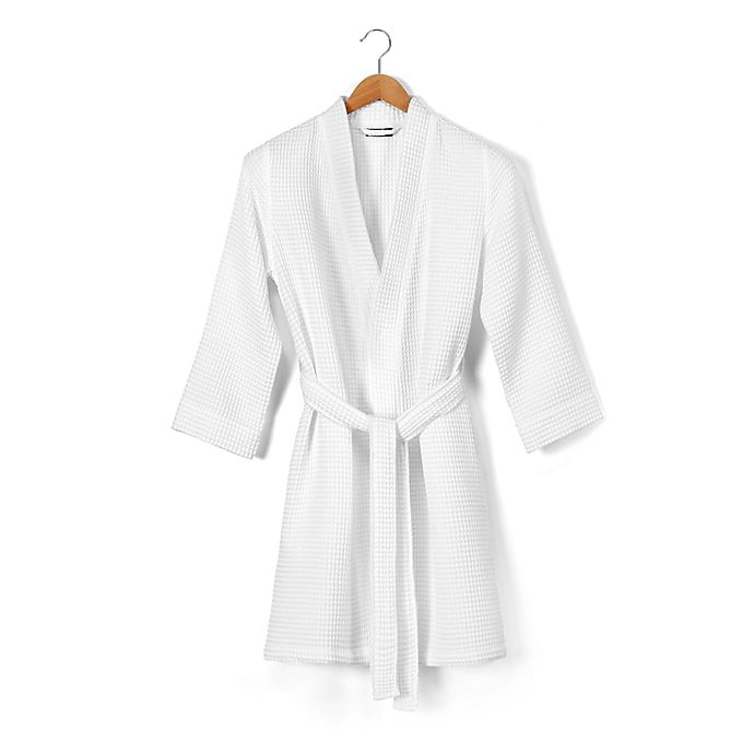 Alternate image 1 for Casual Avenue Aerospin® Waffle Weave Cotton Robe