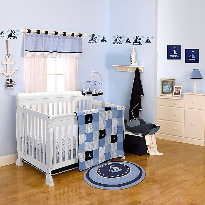 Alternate image 1 for Nautica Kids® William Crib Bedding Collection