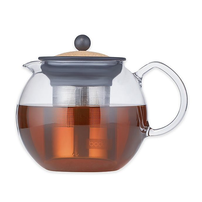 Alternate image 1 for Bodum® Assam 34 oz. Teapot in Brown