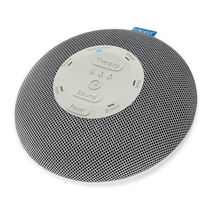 Alternate image 1 for HoMedics® Deep Sleep® Mini White Sound Machine