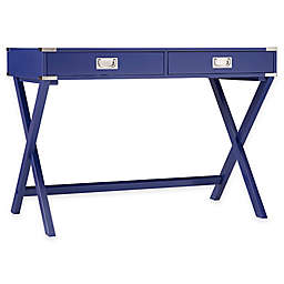 iNSPIRE Q® Callie Campaign Writing Desk in Twilight Blue