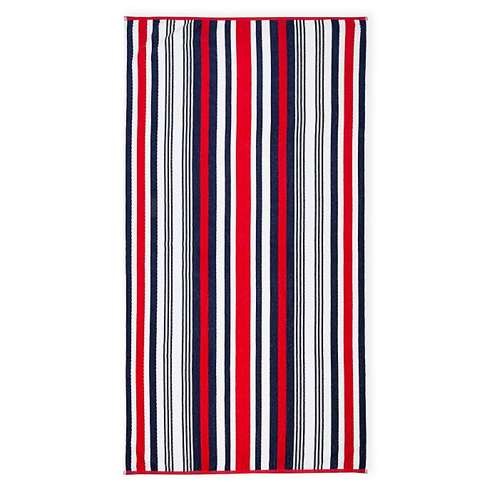 Americana Stripe Beach Towel Bed Bath