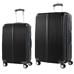 American Green Travel Rockdale Hardside Spinner Checked Luggage