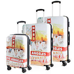 American Green Travel California 3-Piece Hardside Spinner Luggage Set