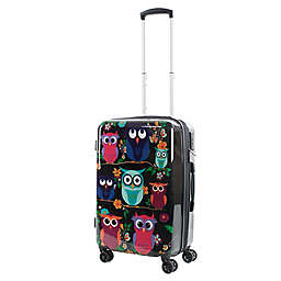 American Green Travel Owls 20-Inch Hardside Spinner Carry On Luggage