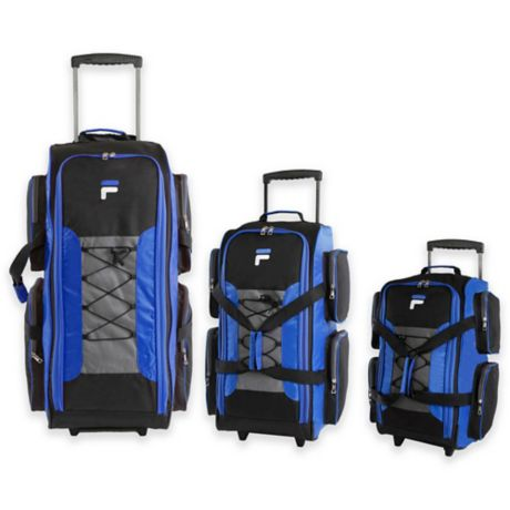 Fila Rolling Duffel Bag Collection Bed Bath Amp Beyond