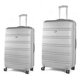 American Green Travel Plateau Hardside Spinner Checked Luggage