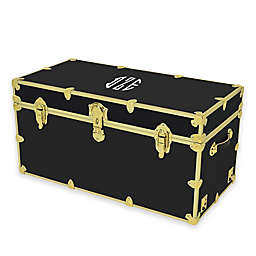 Rhino Trunk and Case™ XXL Bright Brass Rhino Trunk