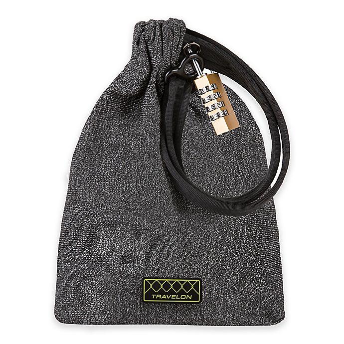Alternate image 1 for Travelon® Lockdown Bag in Charcoal
