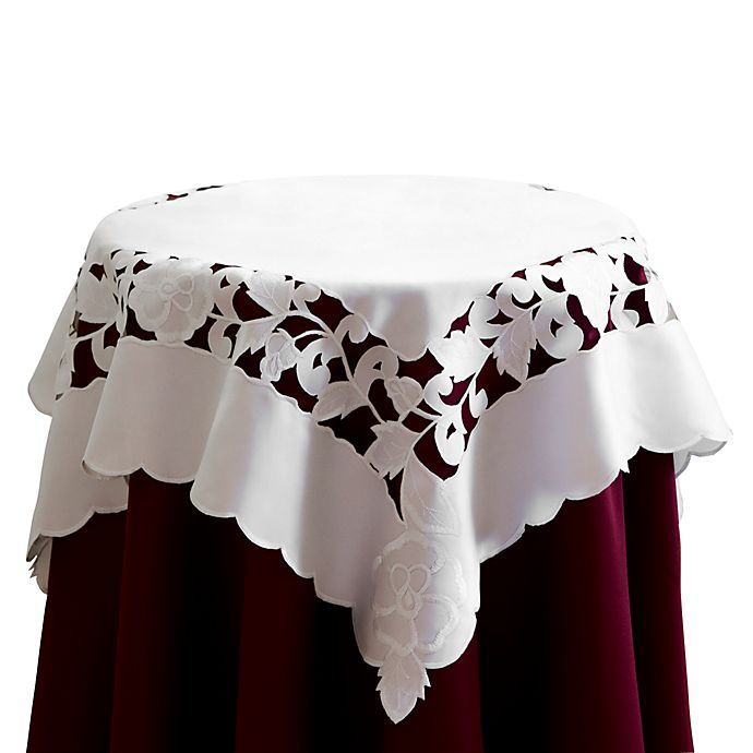 Alternate image 1 for Lily 36-Inch Square Table Topper