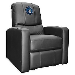 NBA Minnesota Timberwolves Stealth Recliner Chair in Black