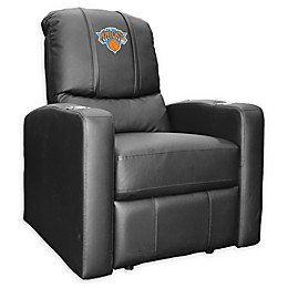 NBA New York Knicks Stealth Recliner Chair in Black