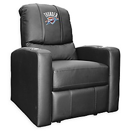 NBA Oklahoma City Thunder Stealth Recliner Chair in Black