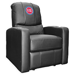 NBA Detroit Pistons Stealth Recliner Chair in Black