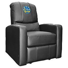 NBA Golden State Warriors Stealth Recliner Chair in Black