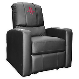 NBA Houston Rockets Stealth Recliner Chair in Black
